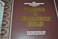 LONDON PHILHARMONIC    CINEMA & BROADWAY GOLD    LP   RONCO  RTD 2036  GATEFOLD