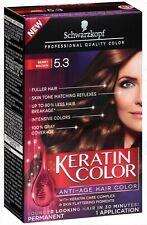 Schwarzkopf Keratin Color Anti-Age Hair Color, Berry Brown [5.3]