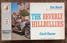 THE BEVERLY HILLBILLIES SET BACK Card Game 1963 (Milton Bradley) DONNA DOUGLAS