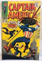 CAPTAIN AMERICA #105 (1968) MARVEL COMICS STAN LEE JACK KIRBY