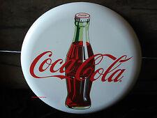 METAL COCA COLA COKE BUTTON STYLE DECOR antique retro style glass bottle top cap