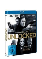 Unlocked [Blu-ray](NEU & OVP) Noomi Rapace, Orlando Bloom, Toni Collette, John M