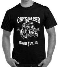 Biker Fitted Big & Tall T-Shirts for Men