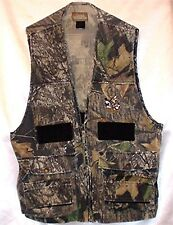"Quail Unlimited 46"" Camo Hunting Vest Padded Shoulders  Shell Holder"