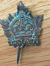 Wwi Canada General Service Cap Badge Cef.Orig.