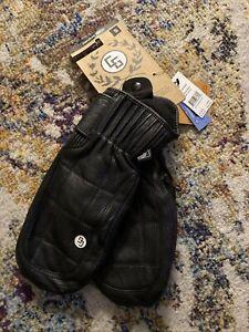 NWT Candy Grind Handbag Mittens Gloves Black Sz Small