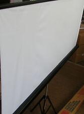 Mobile Stativleinwand 155 x 155 cm Beamer Heimkino HD Leinwand mit Tripod Stativ