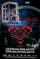 FISH - MARILLION - 2006 - Konzertplakat - Return to Childhood - Tourposter