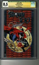 Spawn # 300 - NYCC Silver - CGC 8.5 WHITE Pages - SS5X Todd McFarlane