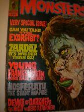 Vintage Monsters Magazine October 1974