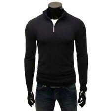 Jersey de hombre negras de poliamida