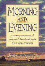 Morning and Evening: Classic KJV Edition, Spurgeon, C. H., Acceptable Book