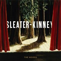 SLEATER-KINNEY - THE WOODS 2 VINYL LP NEW