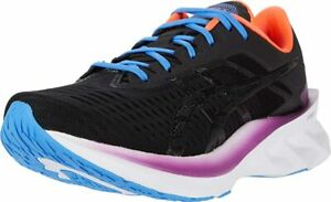 ASICS Women's NOVABLAST Running Shoes, Black/Black, 8.5 B(M) US