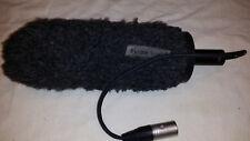 * sony 1-542-233 electret condenser microphone Shotgun, On Camera