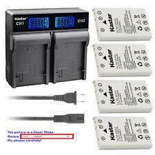 Kastar Battery LCD Rapid Charger for Nikon EN-EL5 EL5 Nikon Coolpix P100 Camera