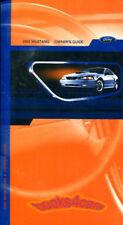 MUSTANG OWNERS MANUAL 2002 FORD BOOK HANDBOOK GUIDE GT