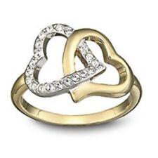 """Swarovski Silver Crystal Jewelery """"match Ring Size-55"""" M.i.b 1062711"""