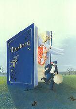 Kunstkarte / Postcard Art - Soizick Meister: Mystery