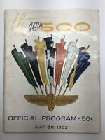 1962 Indianapolis 500 Official Race Program The 46th Indy 500