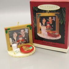 Hallmark 1996 THANK YOU SANTA Christmas Ornament Photo Holder NEW IN BOX (IC)