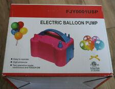 Portable Electric Balloon Pump 120V 600W Dual Nozzle Inflator  FJY0001USP