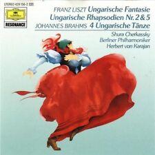Liszt Ungarische Fantasie/Ungarische Rhapsodien Nr. 2, 5/Brahms: Ungarisc.. [CD]