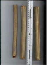 "Pressed rawhide 10"" x 20 MM  retriever stick dog chews - lot of 50"