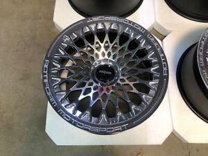 """Rotiform Wheels LHR-M Two Piece - 22"""" for Rolls Royce Ghost / Wraith / Dawn"""