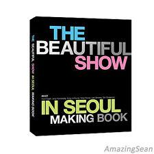 BEAST-BEAUTIFUL SHOW in Seoul Concert Making Book Photo Book + Post Cards KPOP