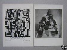 Photographie Theo Van Doesburg foto Ferruzzi 2 tirages