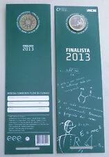 1 Euro Kursmünze Portugal 2013 Finalista st / bu im Blister