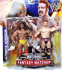 "WWE Wrestlemania 30 Fantasy Matchup_ULTIMATE WARRIOR vs. SHEAMUS 6 "" figures_MIP"