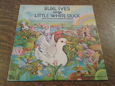 33 tours burl ives sings little white duck and other children's favorites
