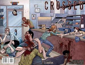 Crossed Avatar Garth Ennis Jacen Burrows 6 wrap edition NM FREE UK POST HOT