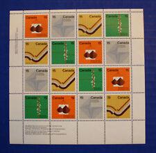 CANADA  (582-585) 1972 Earth Sciences MNH sheet