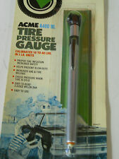 Acme Tools Universal Tire Gauge - Calibrated from 10 to 40 lbs.