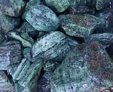 Ruby Crystals in Zoisite Large Rough Mineral Specimen Bulk Wholesale 1 Pound