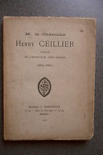 M. LE CHANOINE HENRY CEILLIER SUPERIEUR DE L'INSTITUTION SAINT VINCENT RENNES