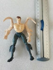 "1994 TOY BIZ MARVEL SPIDER-MAN ANIMATED SERIES Smythe 5"" Action Figure"