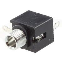 10pzs Conector de enchufe jack mono 3.5mm de montaje en chasis 3 pines I5Z5