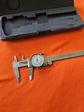 Perfect Scherr Tumico C606460 Precision Dial Caliper 0 6 001 Increments