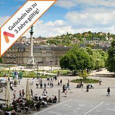 Städtereise Stuttgart Zentrum 4 Tage für 2 Personen mit Frühstück Hotelgutschein