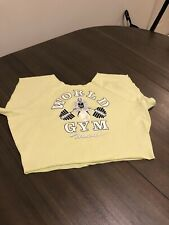 Vgt 90's Gold Gym Maui Musle Sweatshirt 2x