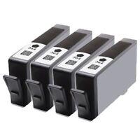 4x Black HP 364 XL Ink Cartridges for PhotoSmart D5460 5515 5510 5520 b110a