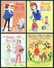 Cd#2 - Betsy McCall Paper Doll Collection On Cd (4 Books In Collection)