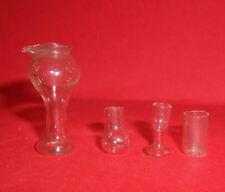 Artículos De Vidrio Vintage Casa De Muñecas Gafas algunos Dol Toi
