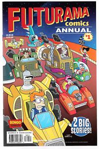Futurama Comics Annual #1 (2018) Bongo Comics Cartoon TV Simpsons