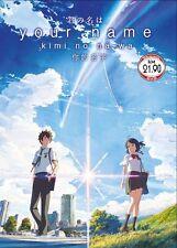 DVD Anime YOUR NAME Kimi No Na Wa Movie 你的名字 Free  Anime & Shipping