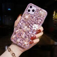 3D Luxury Bling Diamond Rhinestone Crystal Bear Case Cover for LG Stylo 6 5 V40